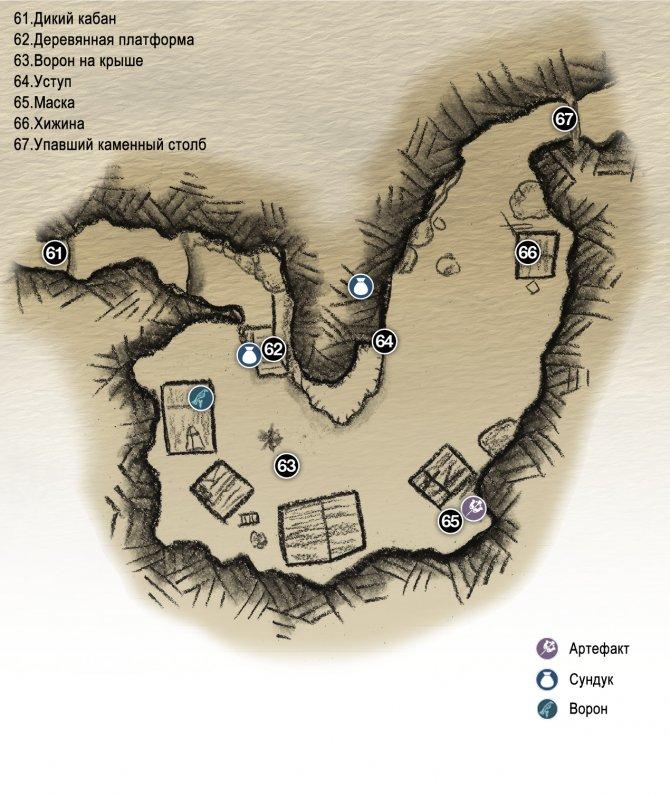 Прохождение God of War – Глава 2: Путь к горе (карта Заброшенного лагеря)