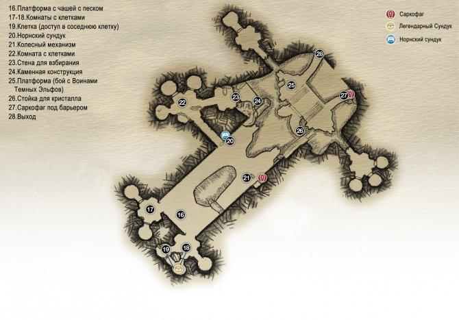 Глава 4: Свет Альвхейма (карта Храма)