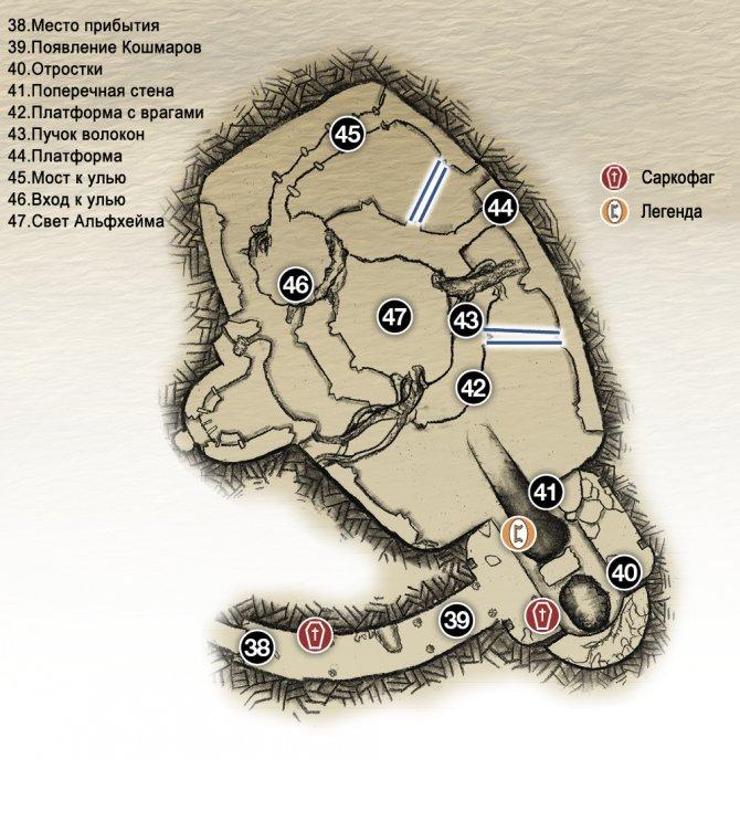 Прохождение God of War – Глава 4: Свет Альвхейма (карта Храма)