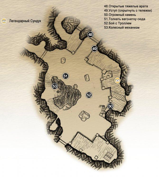 Прохождение God of War – Глава 5: Внутри Горы (карта Сердца Горы-2)