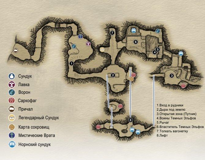 Прохождение God of War – Просьбы Брока и Синдри (карта Ландсутерские рудники)