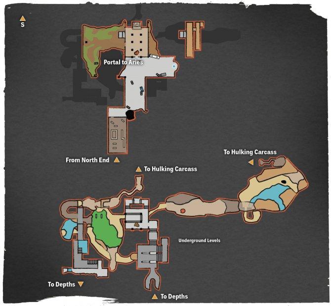Прохождение Darksiders III – Гордыня (карта Южного конца)