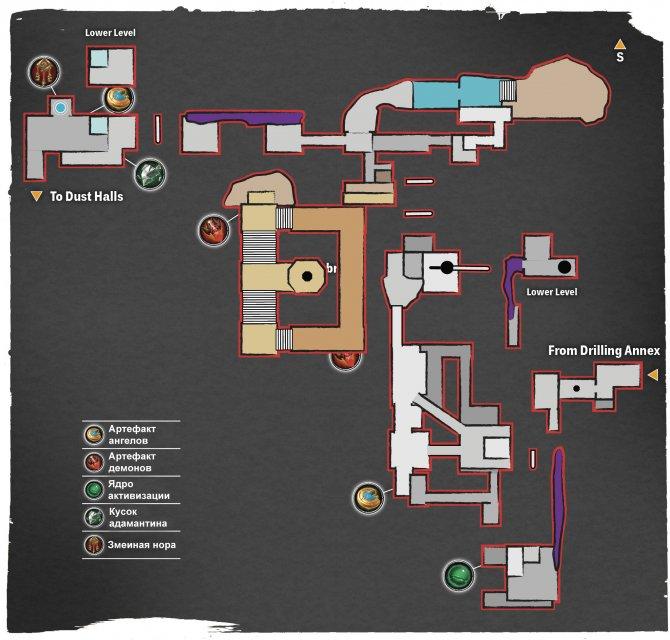 Прохождение Darksiders III – Гнев №2 (карта Низин)