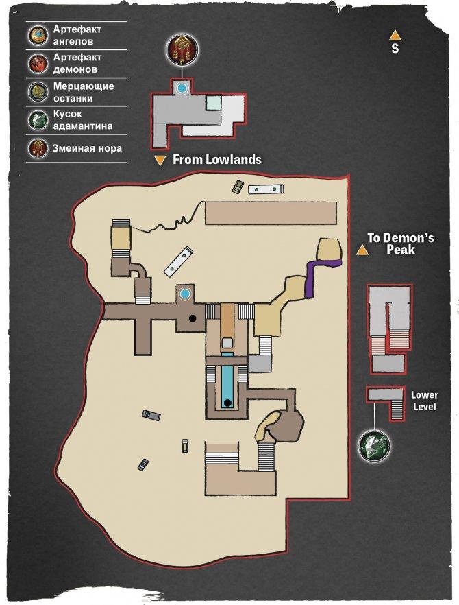 Прохождение Darksiders III – Гнев №2 (карта Пыльных залов)