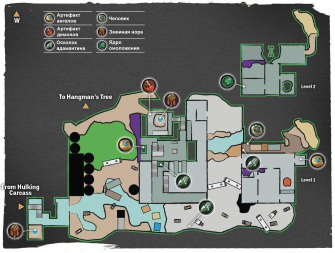 Прохождение Darksiders III – Похоть (карта Гниющего бассейна)