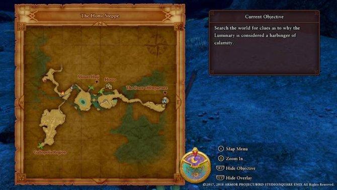 Прохождение Dragon Quest XI – Глава 1 (Часть 4)