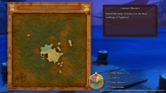 Прохождение Dragon Quest XI – Исследование (Часть 4)