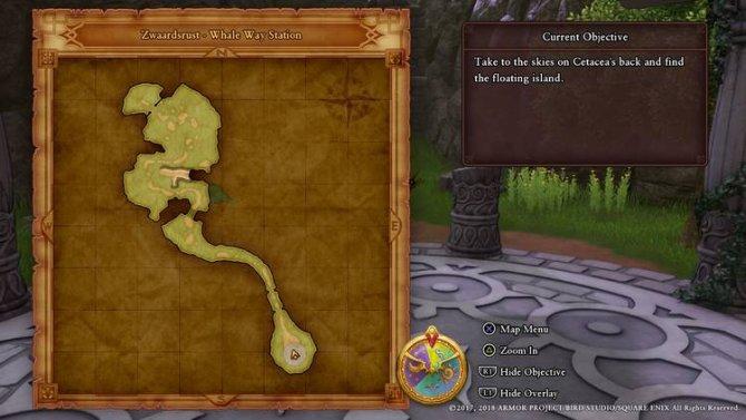 Прохождение Dragon Quest XI – Исследование небес (Часть 1)