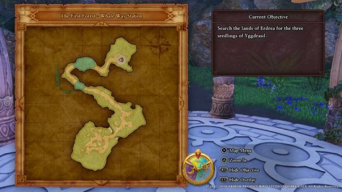 Прохождение Dragon Quest XI – Исследование небес (Часть 2)