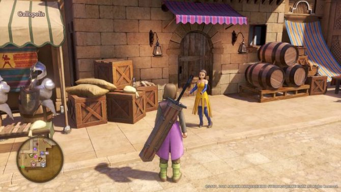 Прохождение Dragon Quest XI – Puff-Puff