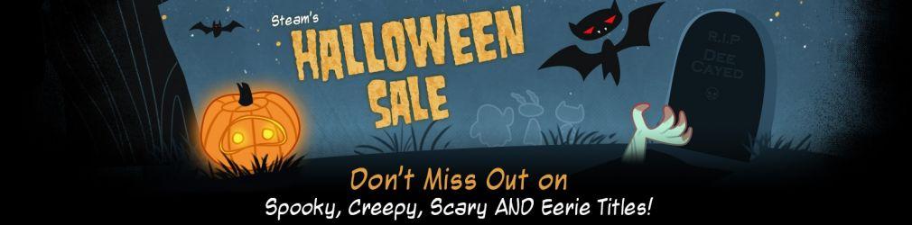 Распродажа на Хэллоуин в Steam