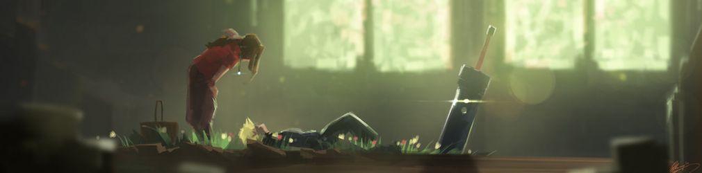 Художник воссоздал запоминающиеся моменты из Final Fantasy VII.