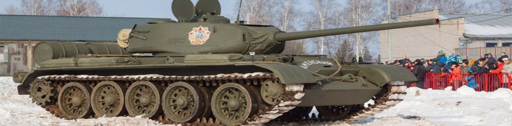 Отреставрированный танк Т-44