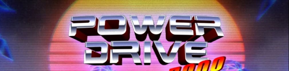 Power Drive 2000 - игра в стиле настоящего NewRetroWave.