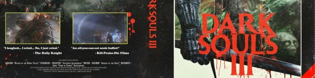 Обложка DARK SOULS III в стиле VHS