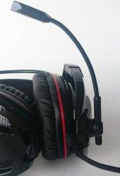 Крепление и ход микрофона GAMDIAS EROS V2.