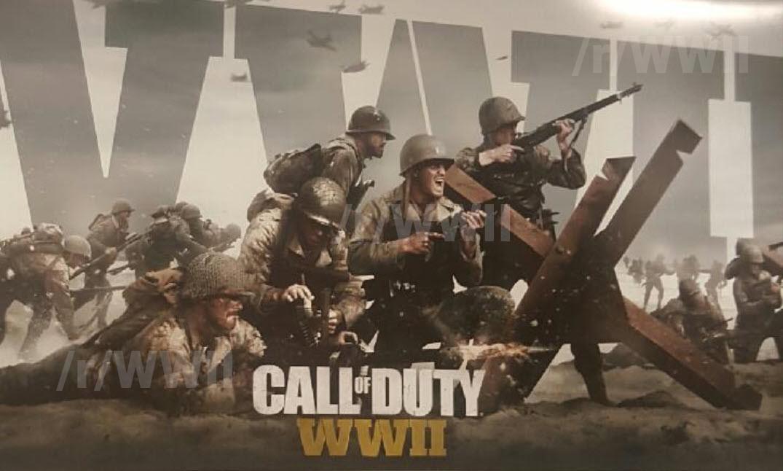 [СЛУХ] В сети появились фото промо-материалов Call of Duty WWII