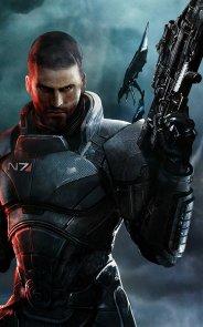 Капитан Шепард, Mass Effect