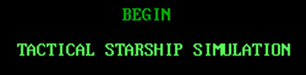 Begin: A Tactical Starship Simulation