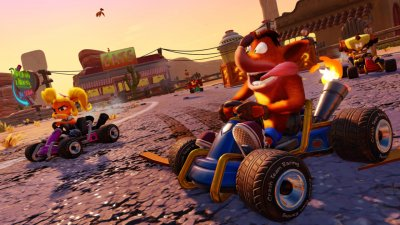 Анонс ремастера Crash Team Racing Nitro-Fueled