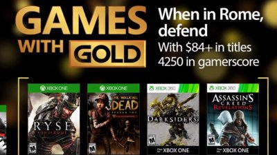 Games with Gold – апрель 2017