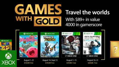 Games with Gold – август 2017