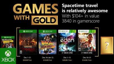 Games with Gold – декабрь 2017