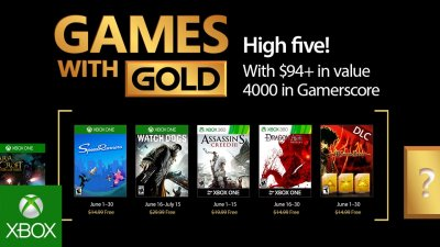 Games with Gold – июнь 2017