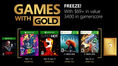 Games with Gold – март 2018