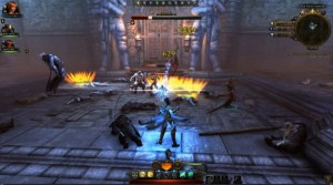 Геймплей за класс Devoted Cleric в Neverwinter