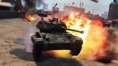 Гонки на танках в World of Tanks