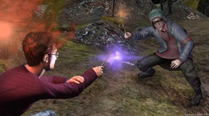 Harry Potter and Deathly Hallows с Kinect