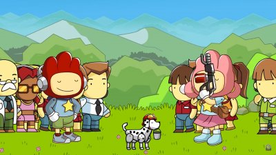 Компания Warner Bros. анонсировала Scribblenauts Showdown