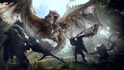 PC-релиз Monster Hunter World нацелен на осень 2018