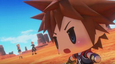Сора из Kingdom Hearts уже в World of Final Fantasy