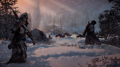 Свежий трейлер DLC The Frozen Wilds для Horizon Zero Dawn
