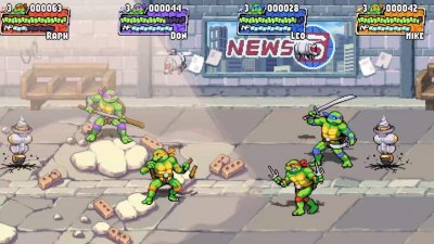 Teenage Mutant Ninja Turtles: Shredder's Revenge подтверджена на Switch