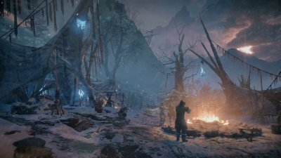 Трейлер красот DLC The Frozen Wilds для Horizon Zero Dawn