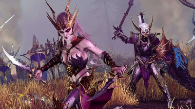 Трейлер The Queen and The Crone – новое DLC для Total War: WARHAMMER II