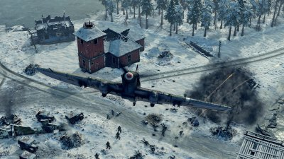 У Sudden Strike 4 пополнение – релиз DLC Finland: Winter Storm