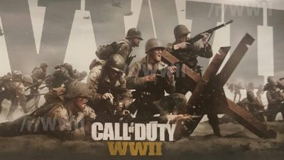 В сети появились фото промо-материалов Call of Duty WWII