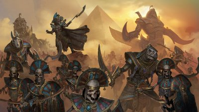 Вышло новое DLC для Total War: WARHAMMER II – Rise of the Tomb Kings