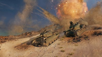 World of Tanks уже в Steam!