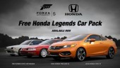 Honda Legends Car Pack