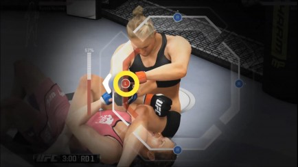 Female Fighters Gameplay - Ronda Rousey vs. Miesha Tate