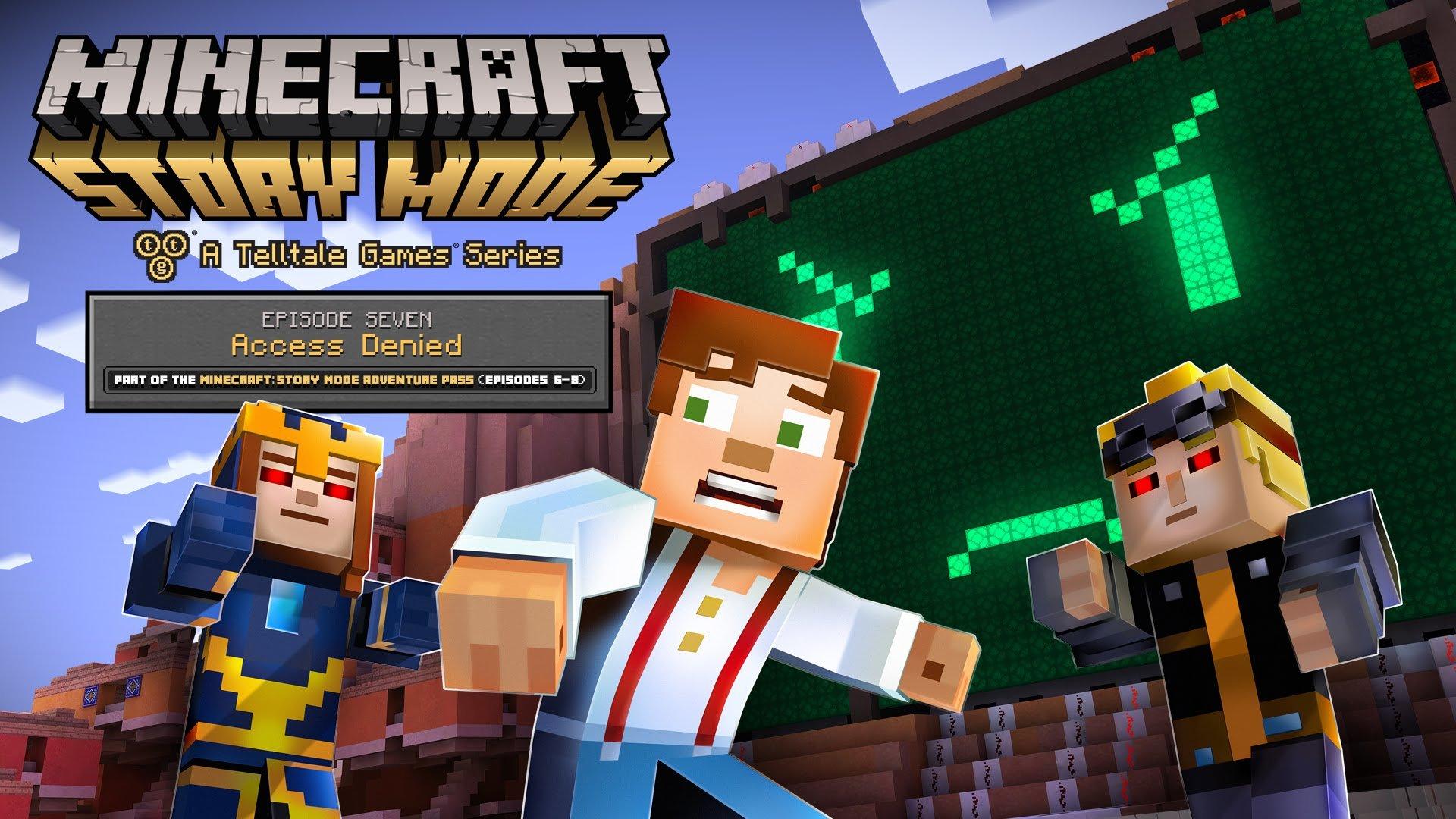 minecraft story mode на андроид видео #10