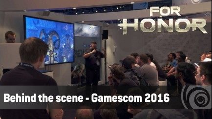 Behind the scene Gamescom 2016