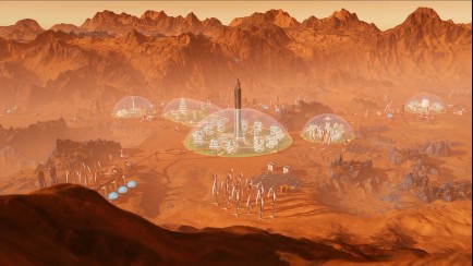 Domes, Living on Mars