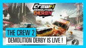 Demolition Derby Launch Trailer