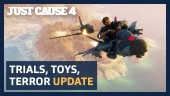 Trials, Toys and Terror Update